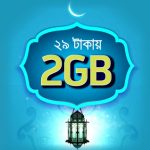 GP New Internet Offer 2GB 3G internet Night Pack only 29 Tk