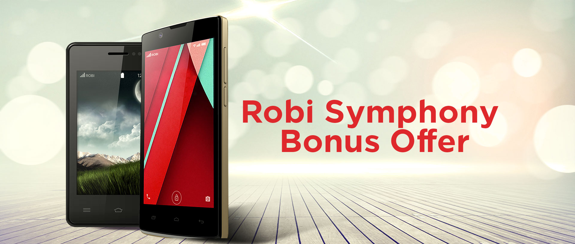 Robi & Symphony Handset Bonus Offer 2016