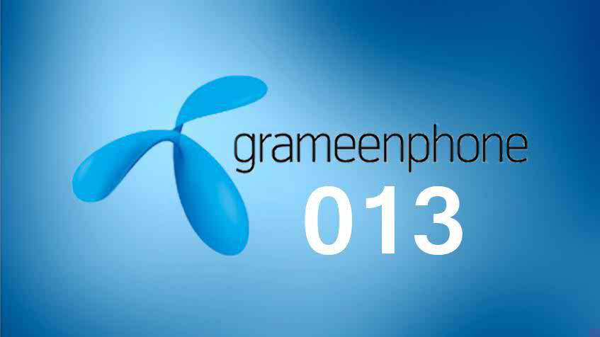 Grameenphone gets A new number series 013 With GP existing 017