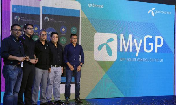 Grameenphone launched digital self care (MyGP application)