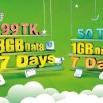 Teletalk EID Offer 1GB 3g internet Pack 50Tk & 3GB 99 Tk Only!