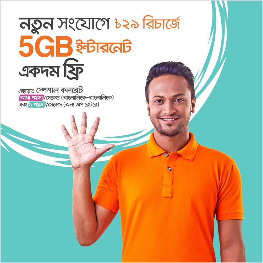 New Banglalink Sim Offer