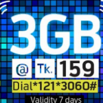 GP 3GB Internet Pack Only 159 Taka Grameenphone 31 night special offers