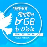 Grameenphone New Year 2017 Internet Data Offer 8GB only 399 Tk