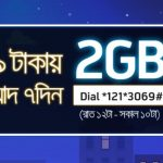 Enjoy Grameenphone Night Pack 2GB at 59 Taka 2017