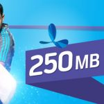 GP 250MB internet Data Packs 31TK for 3Days