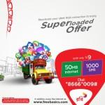 Best Call Rate 100% Bonus on Robi Internet Data Packages