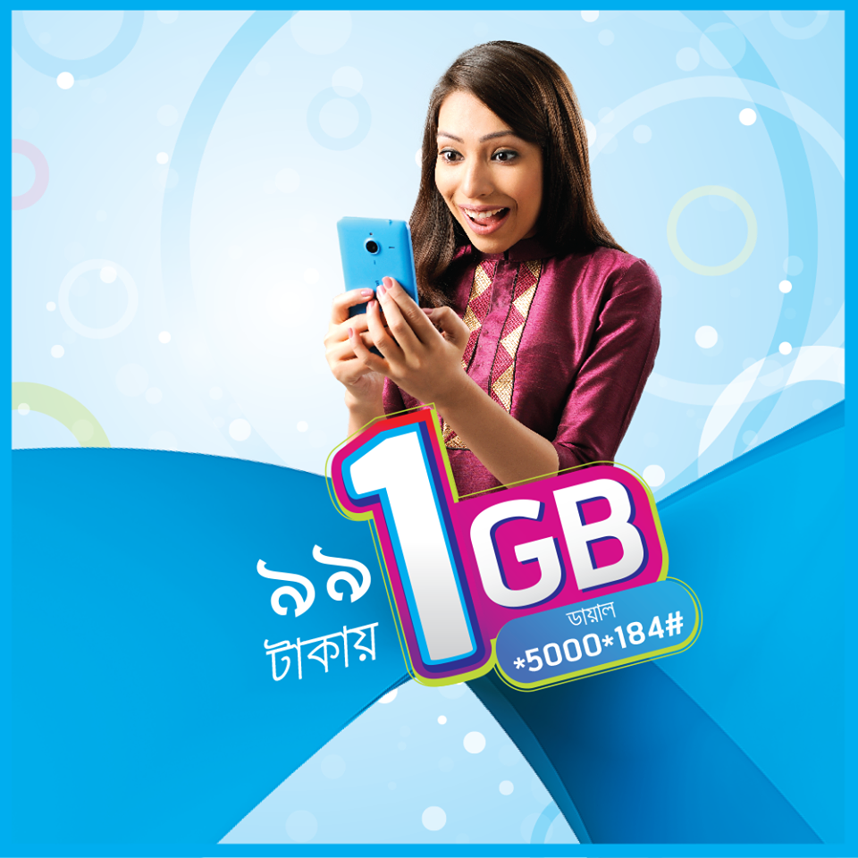 GP internet offer 2019 - GP 2GB Internet 38Tk offer (via ...