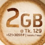 GP 2GB Internet Data Packages 129 Tk For 7Days