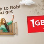 Robi Bondho SIM Reactive Offer 1GB Internet Data Only 9taka