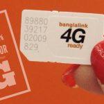 Replacement Banglalink Postpaid SIM 4G Upgrade Get 2GB Free internet !